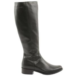 Arka Zwarte laarzen laarzen 7447