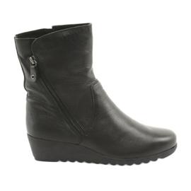 Caprice Wedge schoenen zwart