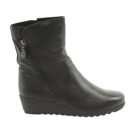 Caprice zwart Wedge schoenen