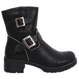 Militaire zwarte laarzen A-339 Zwart