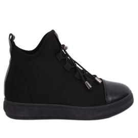 Zwarte geïsoleerde neopreen sneakers XY-35 Zwart