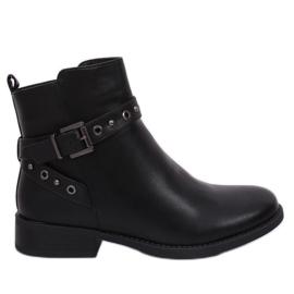 Zwart Zwarte Jodhpur dameslaarzen zwart KL-578 Zwart