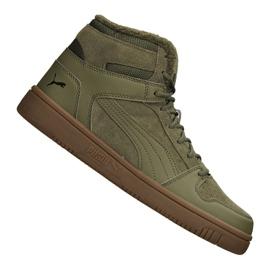 Puma Rebound LayUp Sd Fur M 369831-03 schoenen groen