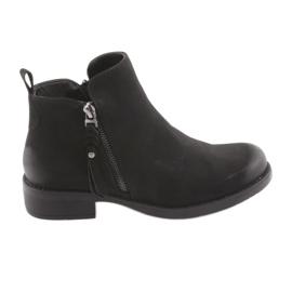 Zwarte laarzen Sergio Leone 554