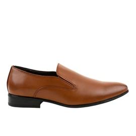 Bruine elegante instappers 6-317