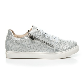 Vices grijs Zilveren Fashion sneakers