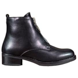 Seastar zwart Laarzen Met Een Decoratieve Rits