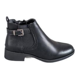 Anesia Paris Lage laarzen Dames zwart