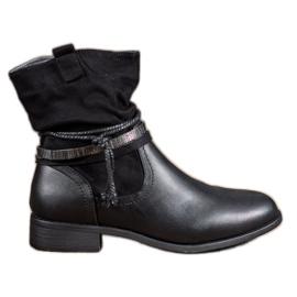 Anesia Paris zwart Hoge laarzen