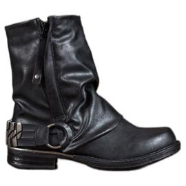 Seastar zwart Biker Laarzen