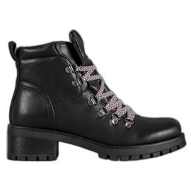 Filippo zwart Lederen laarzen