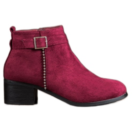 SHELOVET Suede High Heels