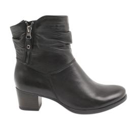 Caprice 25347 zwarte laarzen met rits