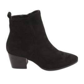 Zwart Suède laarzen Black Filippo 922