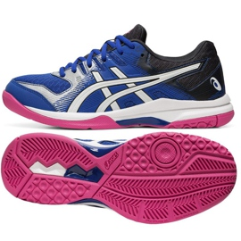 Asics Gel-Rocket 9 W volleybalschoenen 1072A034-400 marine marineblauw