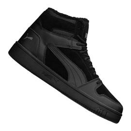 Puma Rebound LayUp Sd Fur M 369831-01 schoenen zwart