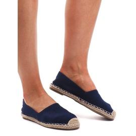 Espadrilles F169-6 blauwe sandalen