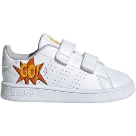 Adidas Advantage I Jr EF0305 schoenen wit