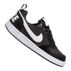 Nike Court Borough Low Pe (GS) JB BQ7566-002 schoenen zwart zwart