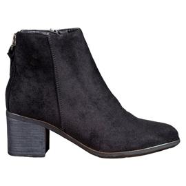 Filippo Klassieke suède laarzen zwart