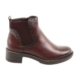 Enkellaarzen Jodhpur Boots Filippo 957 bordeaux