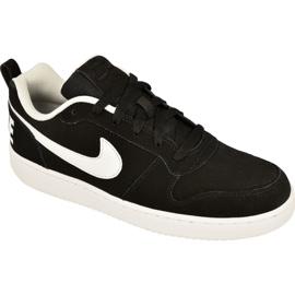 Zwart Nike Sportswear Court Borough Low M 838937-010 schoenen