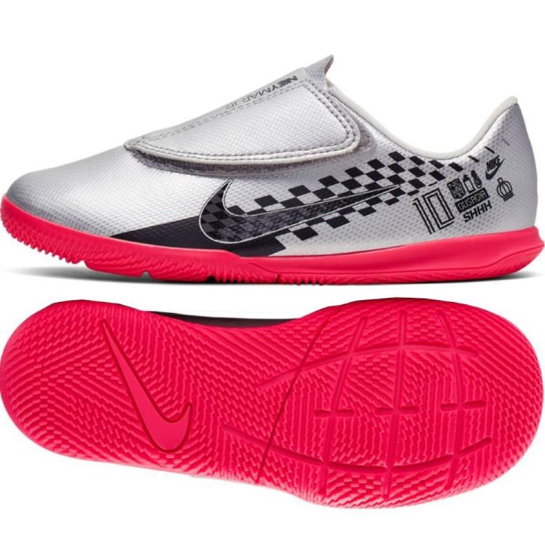 Nike Mercurial Vapor 13 Club Ic Jr AT8171-006 schoenen grijs grijs / zilver