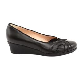 Comfortabele pumps op zwarte Espinto-sleehakken
