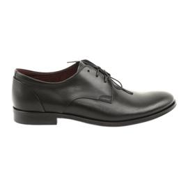 Leren schoenen Pilpol 1609 zwart
