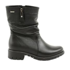 Gregors Zwarte laarzen met bont 793 zwart