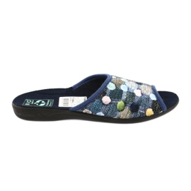 Slippers slippers 3D Adanex marineblauw