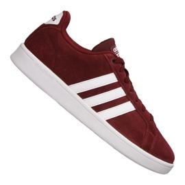 Rood Adidas Cloudfoam Adventage M DB0417 schoenen
