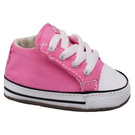 Roze Converse Chuck Taylor All Star Cribster Jr 865160C schoenen