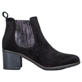 Filippo Boots On A Bar zwart