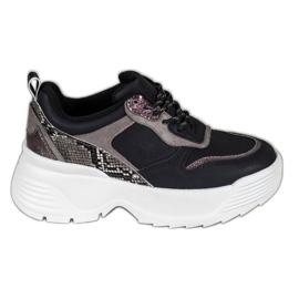 Sneakers op het VICES-platform zwart