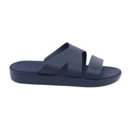 Atletico 185 marineblauwe slippers