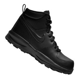 Nike Manoa Ltr Gs Jr BQ5372-001 schoenen zwart