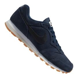 Nike Md Runner 2 Suede M AQ9211-401 schoenen marine
