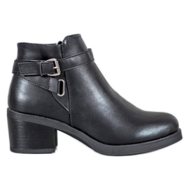 Anesia Paris Boots On A Bar zwart