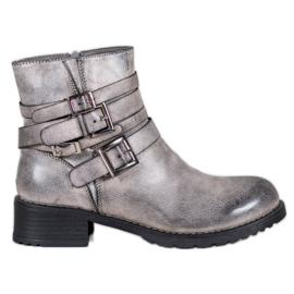 SHELOVET Klassieke grijze laarzen grijs