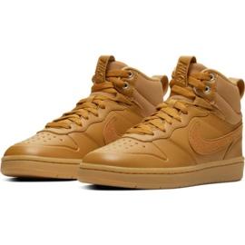 Nike Court Borough Mid 2 Boot Jr BQ5440-700 schoenen bruin