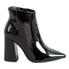 Seastar Zwart gelakte laarzen