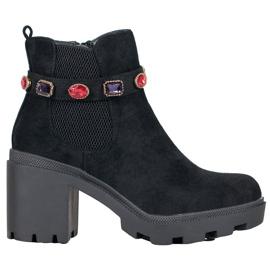 Seastar Laarzen op het platform zwart
