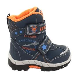 American Club Amerikaanse laarzen schoenen met RL35 marineblauw