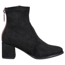 Goodin Laarzen Met Een Decoratieve Slider zwart
