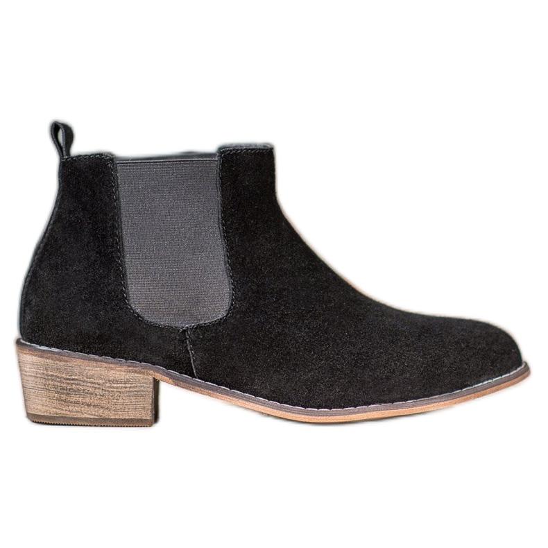 Goodin Leren Jodhpur-laarzen zwart