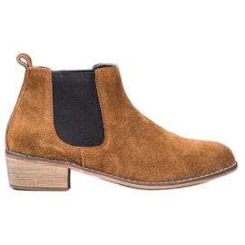 Goodin Leren Jodhpur-laarzen bruin