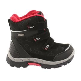 Zwarte Softshell laarzen met een membraan American Club HL20