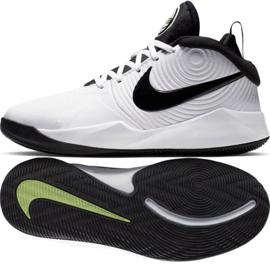 Nike team Hustle D 9 (GS) Jr AQ4224-100 schoenen wit wit