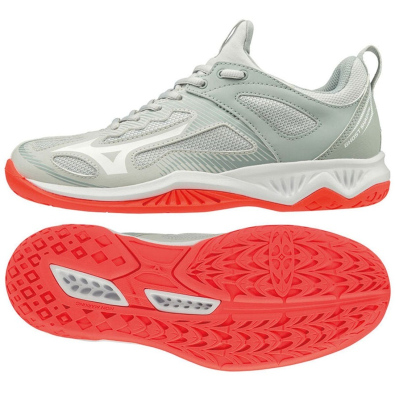 Mizuno Ghost Shadow W schoenen X1GB198060 wit wit